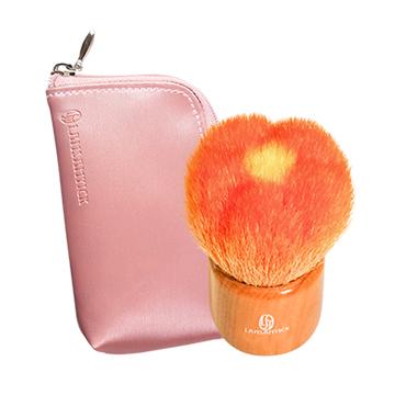 ●花型刷.橘(小)-另贈收納袋