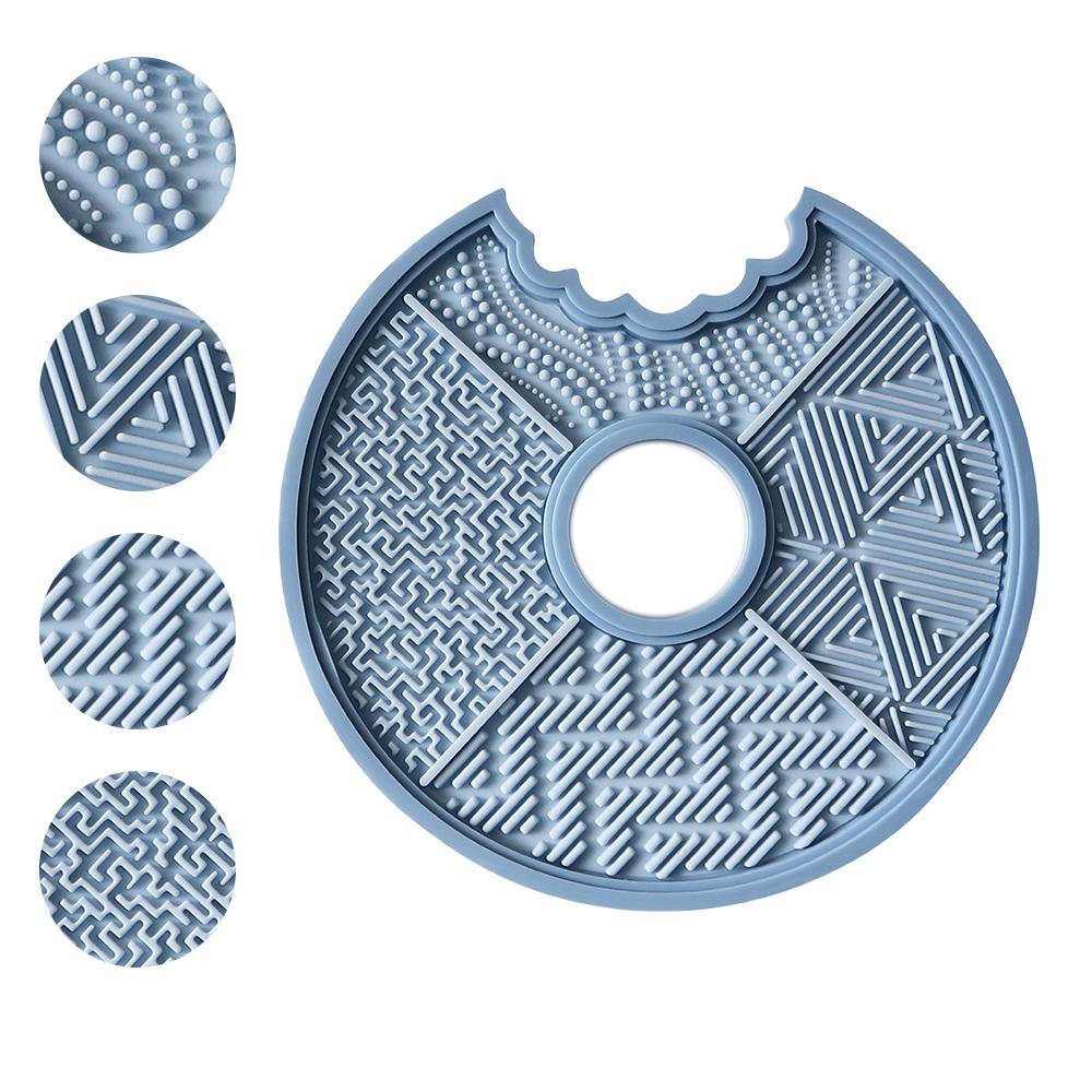刷具清潔盤(藍)