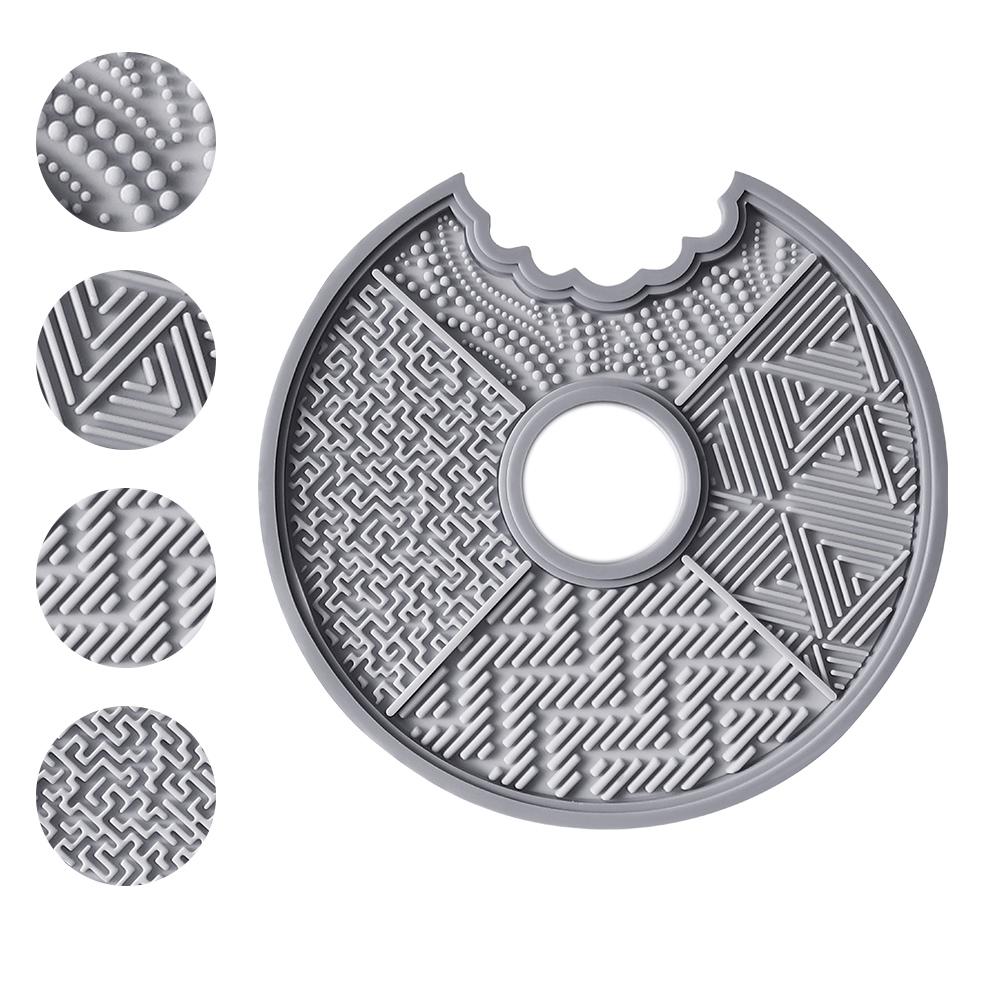 刷具清潔盤(灰)
