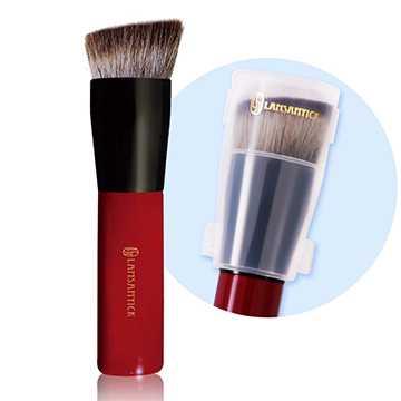 【粉底刷】斜角刷(紅)底妝刷,粉底液,底妝,打底,BB霜,CC霜