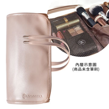 全開綁帶式刷具袋(杏),LSY,林三益,LAMSAMYICK,彩妝,美妝