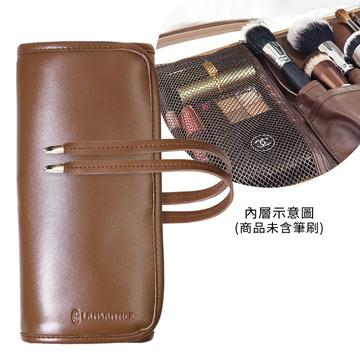 全開綁帶式刷具袋(咖),LSY,林三益,LAMSAMYICK,彩妝,美妝