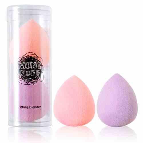 迷你BB海綿2入(粉紫),LSY,林三益,彩妝,刷具,海綿