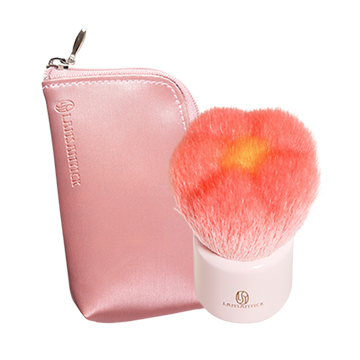 花型刷.粉(小)-另贈收納袋,LSY,林三益,花,花型刷,蜜粉刷