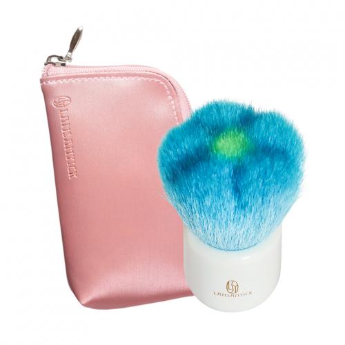 ●花型刷.藍(小)-另贈收納袋,LSY,林三益,花,花型刷,蜜粉刷