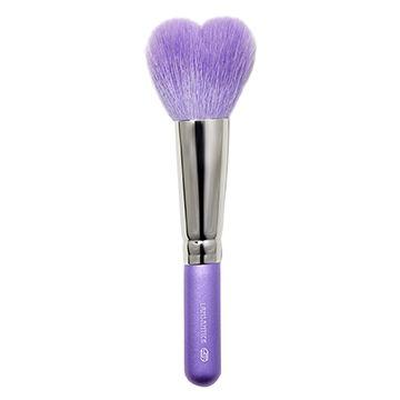 心型.腮紅蜜粉兩用刷(小.紫),蜜粉刷,鬆粉,蜜粉,粉餅刷,蜜粉餅