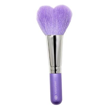 心型.腮紅蜜粉兩用刷(中.紫),蜜粉刷,鬆粉,蜜粉,粉餅刷,蜜粉餅