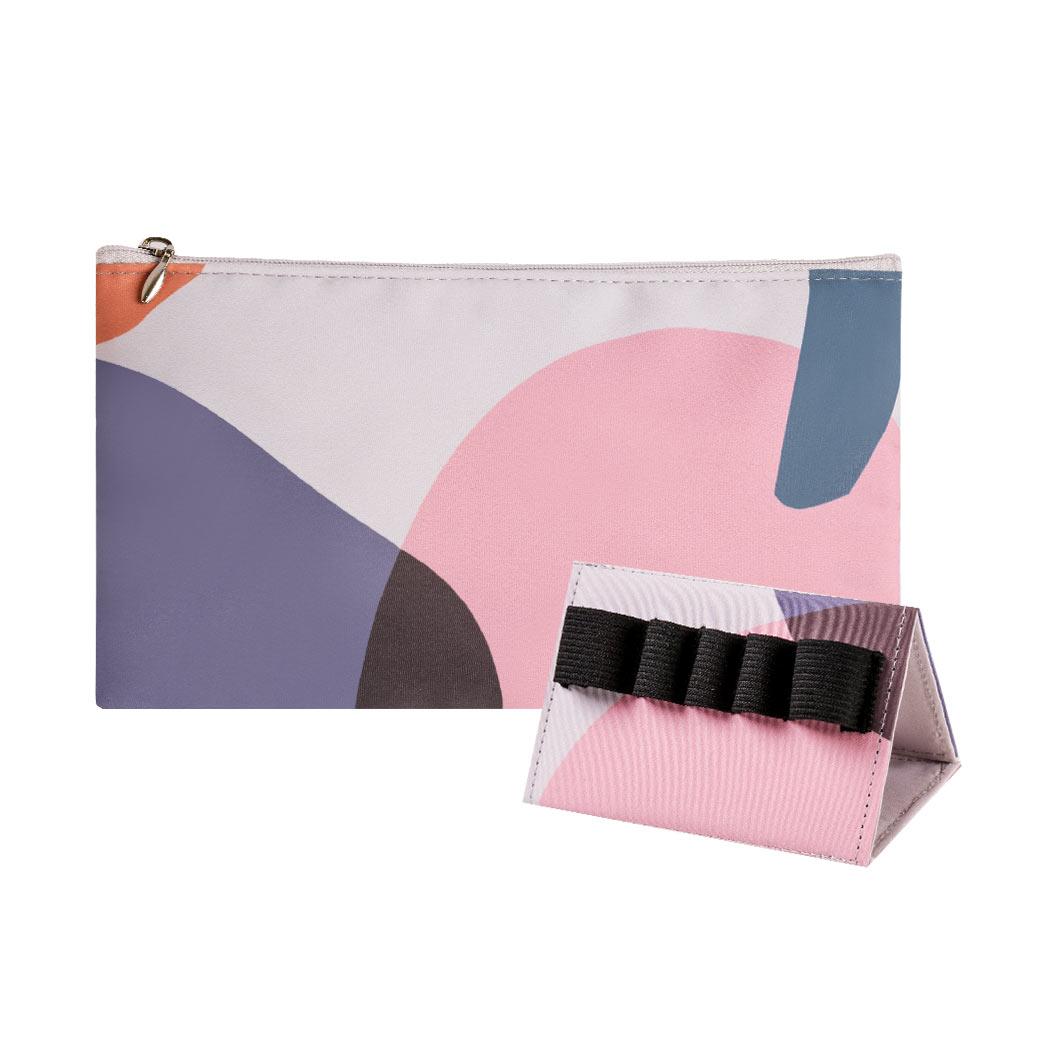 完美刷具包(粉),旅行組,方便攜帶,收納,出遊,收納架