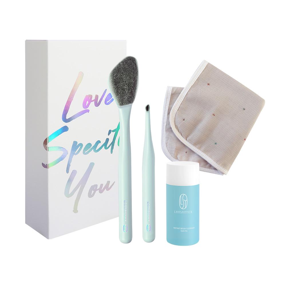 偽素顏限定組,LSY林三益,LAMSAMYICK,偽素顏限定組,牙刷型粉底刷,牙刷型眉部修飾刷